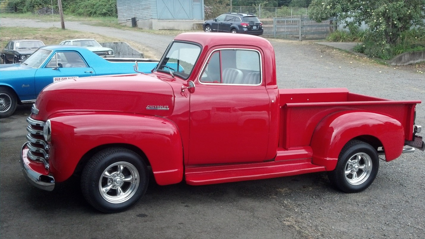 1950 modified Chevy Truck
